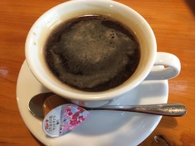 食後のコーヒーの画像